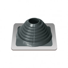 Крышный проход Мастер флеш №4, диаметр (76-152), серебро, прямой