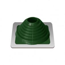 Крышный проход Мастер флеш №4, диаметр (76-152), зеленый, прямой