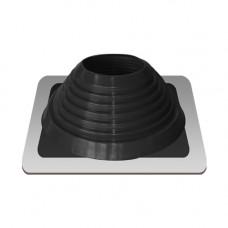 Крышный проход Мастер флеш №7, диаметр (157-280), черный, прямой