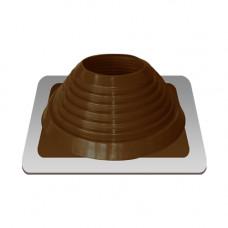 Крышный проход Мастер флеш №7, диаметр (157-280), коричневый, прямой