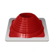 Крышный проход Мастер флеш №7, диаметр (157-280), красный, прямой