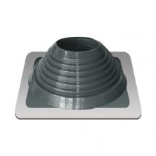 Крышный проход Мастер флеш №7, диаметр (157-280), серебро, прямой