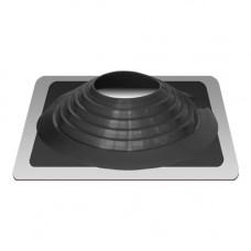 Крышный проход Мастер флеш №9, диаметр (254-467), черный, прямой