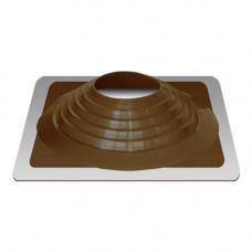 Крышный проход Мастер флеш №9, диаметр (254-467), коричневый, прямой