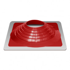 Крышный проход Мастер флеш №9, диаметр (254-467), красный, прямой