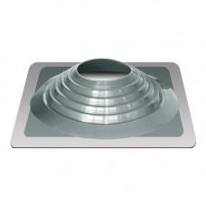 Крышный проход Мастер флеш №9, диаметр (254-467), серебро, прямой