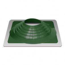 Крышный проход Мастер флеш №9, диаметр (254-467), зеленый, прямой