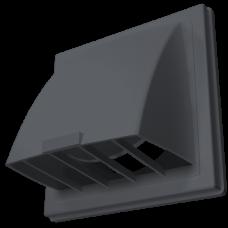 Выход настенный с клапаном 1515К10ФВ Серый